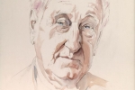 John Montague watercolour