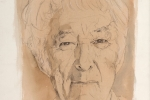 Seamus Heaney drawing