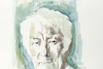 Seamus Heaney watercolour