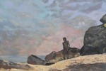 Figure in a Seascape