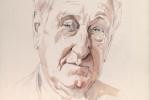 John Montague watercolour