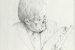 Paddy Moloney drawing