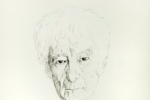 Seamus Heaney small drawing